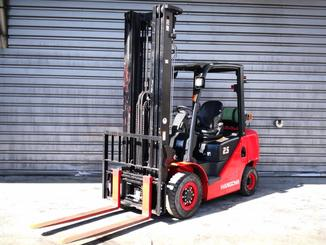 Four wheel front forklift Hangcha XF25G - 1