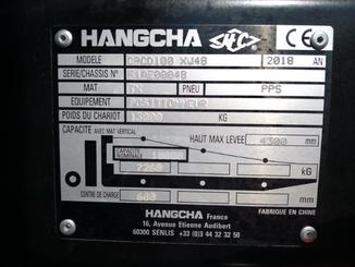 Four wheel counterbalanced forklift Hangcha XF100D - 7