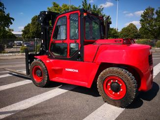 Four wheel counterbalanced forklift Hangcha XF100D - 3