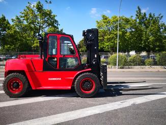 Four wheel counterbalanced forklift Hangcha XF100D - 4