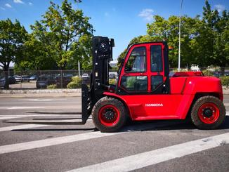 Four wheel counterbalanced forklift Hangcha XF100D - 2