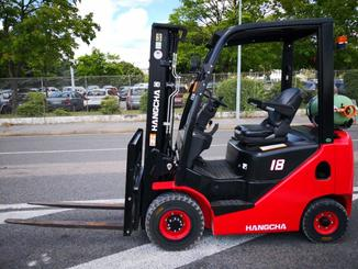 Four wheel counterbalanced forklift Hangcha XF18G - 2