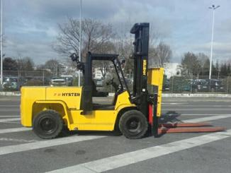 Four wheel counterbalanced forklift Hyster H7.00XL - 3