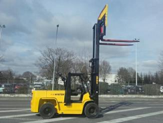 Four wheel counterbalanced forklift Hyster H7.00XL - 2
