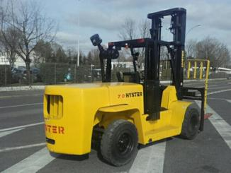 Four wheel counterbalanced forklift Hyster H7.00XL - 4
