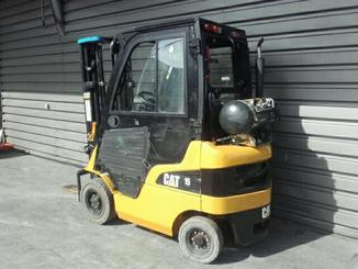 Four wheel front forklift Caterpillar GP15N - 2