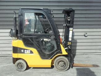 Four wheel front forklift Caterpillar GP15N - 5
