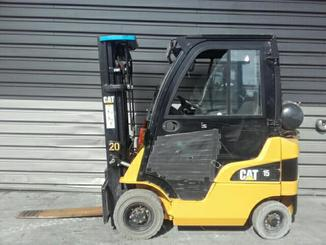 Four wheel front forklift Caterpillar GP15N - 6