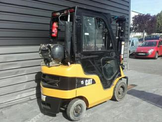 Four wheel front forklift Caterpillar GP15N - 4
