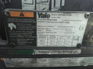 Four wheel counterbalanced forklift Yale GDP60VX - 5