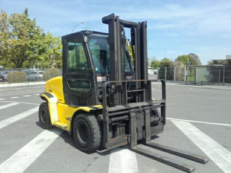 Four wheel counterbalanced forklift Yale GDP60VX - 1