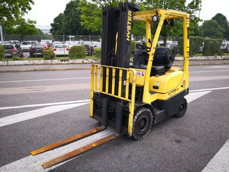 Four wheel counterbalanced forklift Hyster H1.8FT - 1