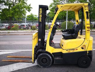 Four wheel counterbalanced forklift Hyster H1.8FT - 2