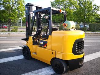 Four wheel counterbalanced forklift Caterpillar GC70KY-LP - 3