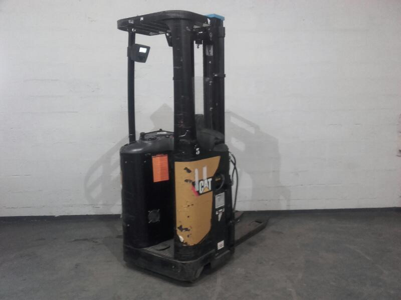 Pallet stacker with rider platform Caterpillar NSR16N - 1