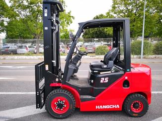 Four wheel counterbalanced forklift Hangcha XF25D - 2