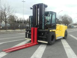 Four wheel counterbalanced forklift Hyster H16XM-12 - 1