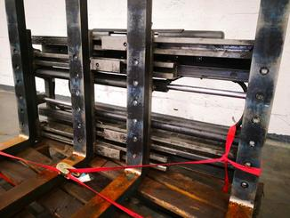 Single/multi fork 2 pallet handler Kaup 2500 - 3