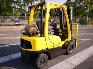 Four wheel front forklift Hyster H2.5FT - 3