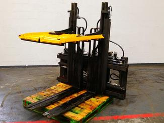 Single/multi fork 2 pallet handler Caterpillar 4000 - 1