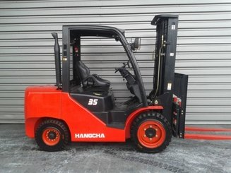 Four wheel front forklift Hangcha XF35DMS - 3