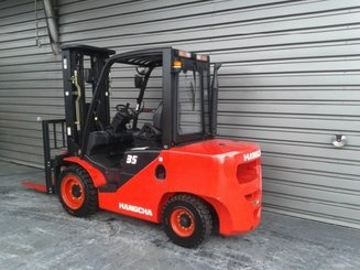 Four wheel front forklift Hangcha XF35DMS - 2