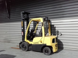 Four wheel counterbalanced forklift Hyster H2.5FT - 4