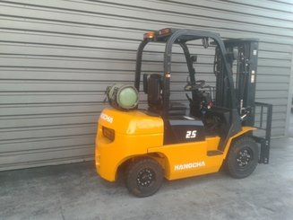 Four wheel counterbalanced forklift Hangcha R25G - 3