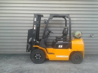 Four wheel counterbalanced forklift Hangcha R25G - 4