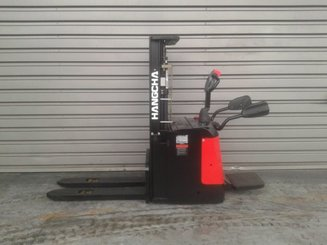 Stacker truck with folding platform Hangcha CDD16 ES - 2