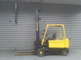 Four wheel counterbalanced forklift Hyster E5.50XL - 1