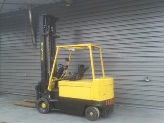 Four wheel counterbalanced forklift Hyster E5.50XL - 2