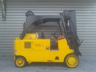 Four wheel counterbalanced forklift Royal T165C - 3