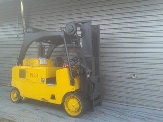 Four wheel counterbalanced forklift Royal T165C - 2