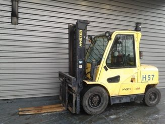 Four wheel counterbalanced forklift Hyster H4.00XM6 - 1