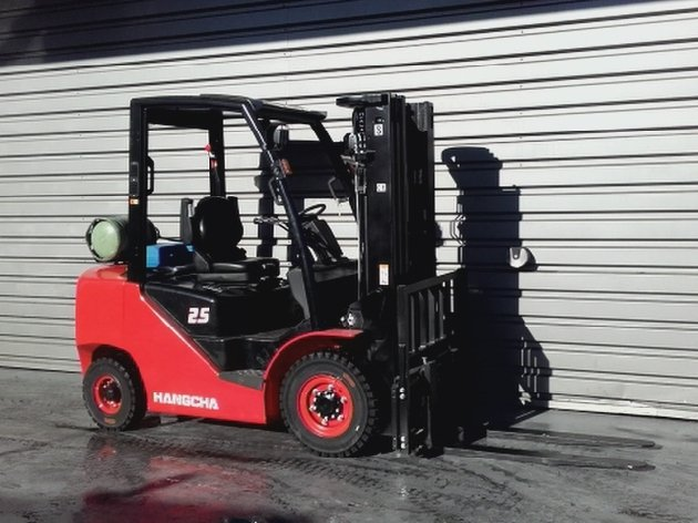 Four wheel counterbalanced forklift Hangcha XF25G - 1