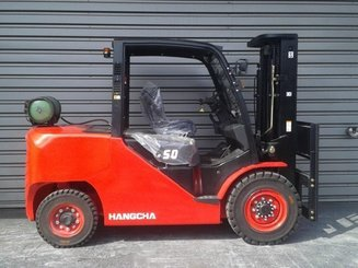 Four wheel front forklift Hangcha XF50G - 4