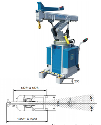 Workshop crane Mobilev 30MBC - 8