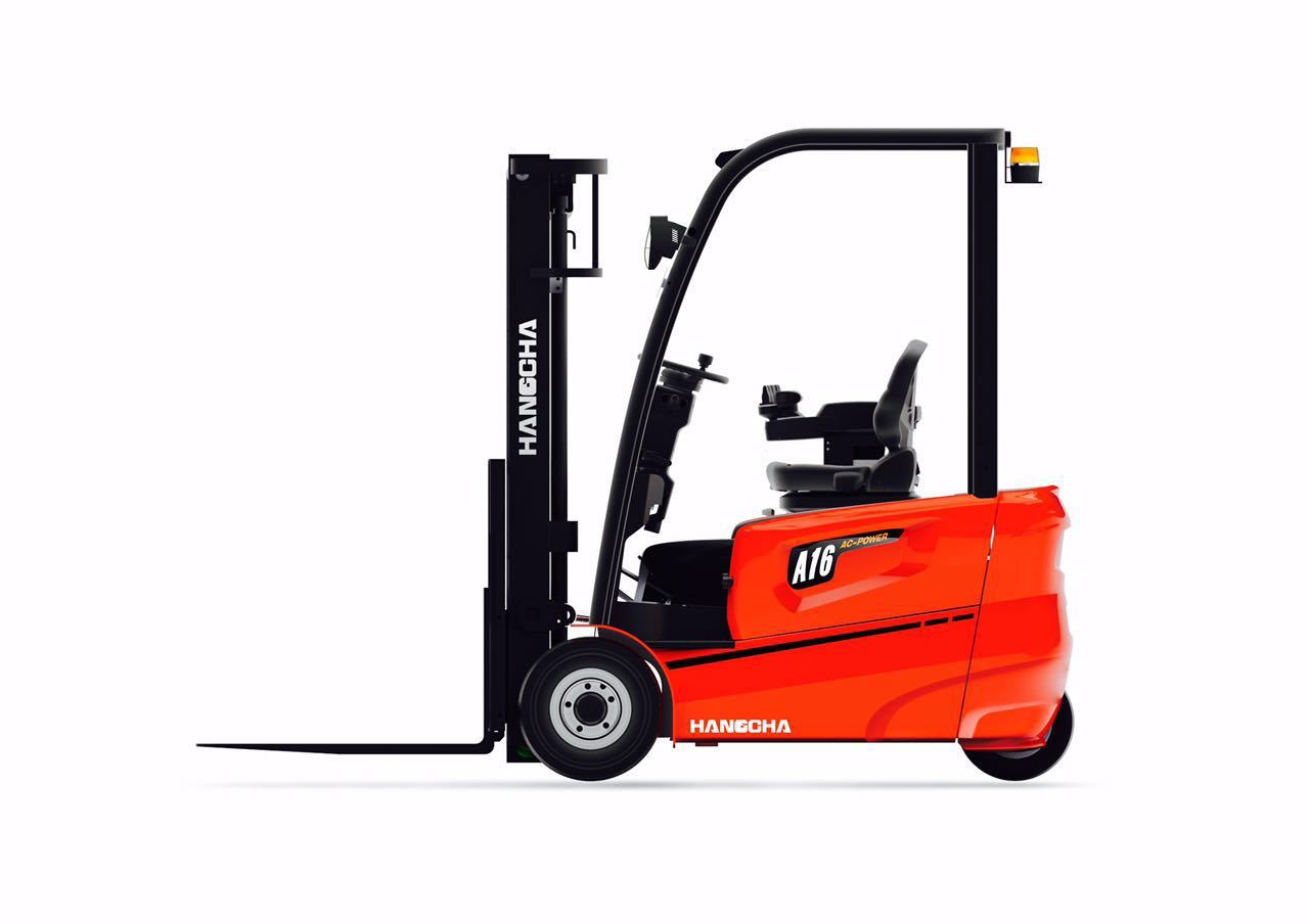 Three wheel counterbalanced forklift Hangcha A3W16 - 1