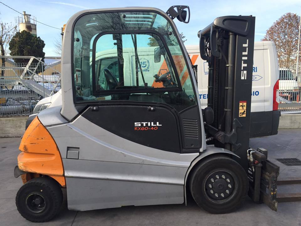 Four wheel counterbalanced forklift STILL RX60-40 - 1