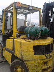 Four wheel counterbalanced forklift Yale GLP40 LP - 2