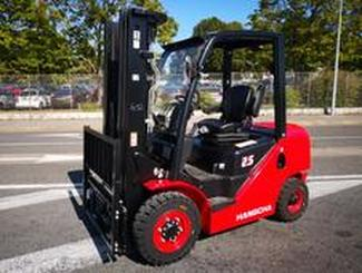 Four wheel counterbalanced forklift Hangcha XF25D - 3