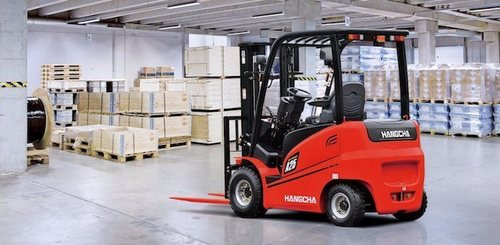 Four wheel counterbalanced forklift Hangcha A4W25 - 1