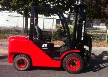 Four wheel counterbalanced forklift Hangcha XF35D - 1