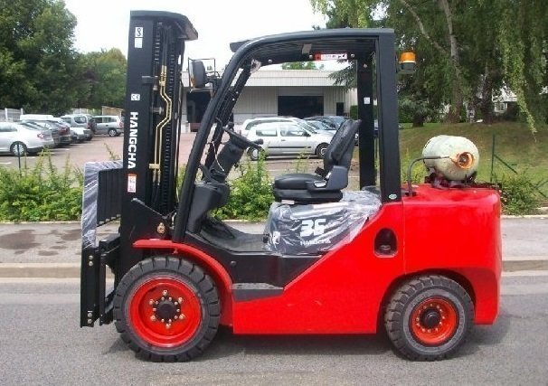 Four wheel counterbalanced forklift Hangcha XF35G - 1