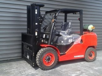 Four wheel counterbalanced forklift Hangcha XF50G - 1