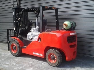 Four wheel front forklift Hangcha XF50G - 2