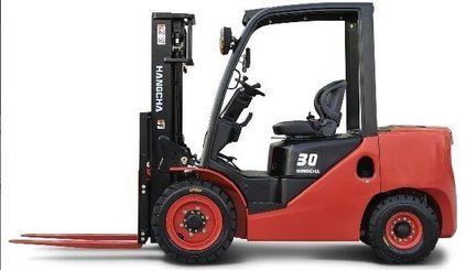 Four wheel counterbalanced forklift Hangcha XF30D - 1