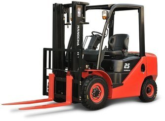 Four wheel counterbalanced forklift Hangcha XF25D - 1