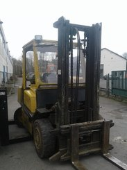Four wheel counterbalanced forklift Yale GLP40 LP - 1